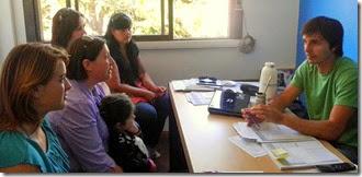 La nueva Comisión de Festejos de Mar del Tuyú se reunió con autoridades municipales