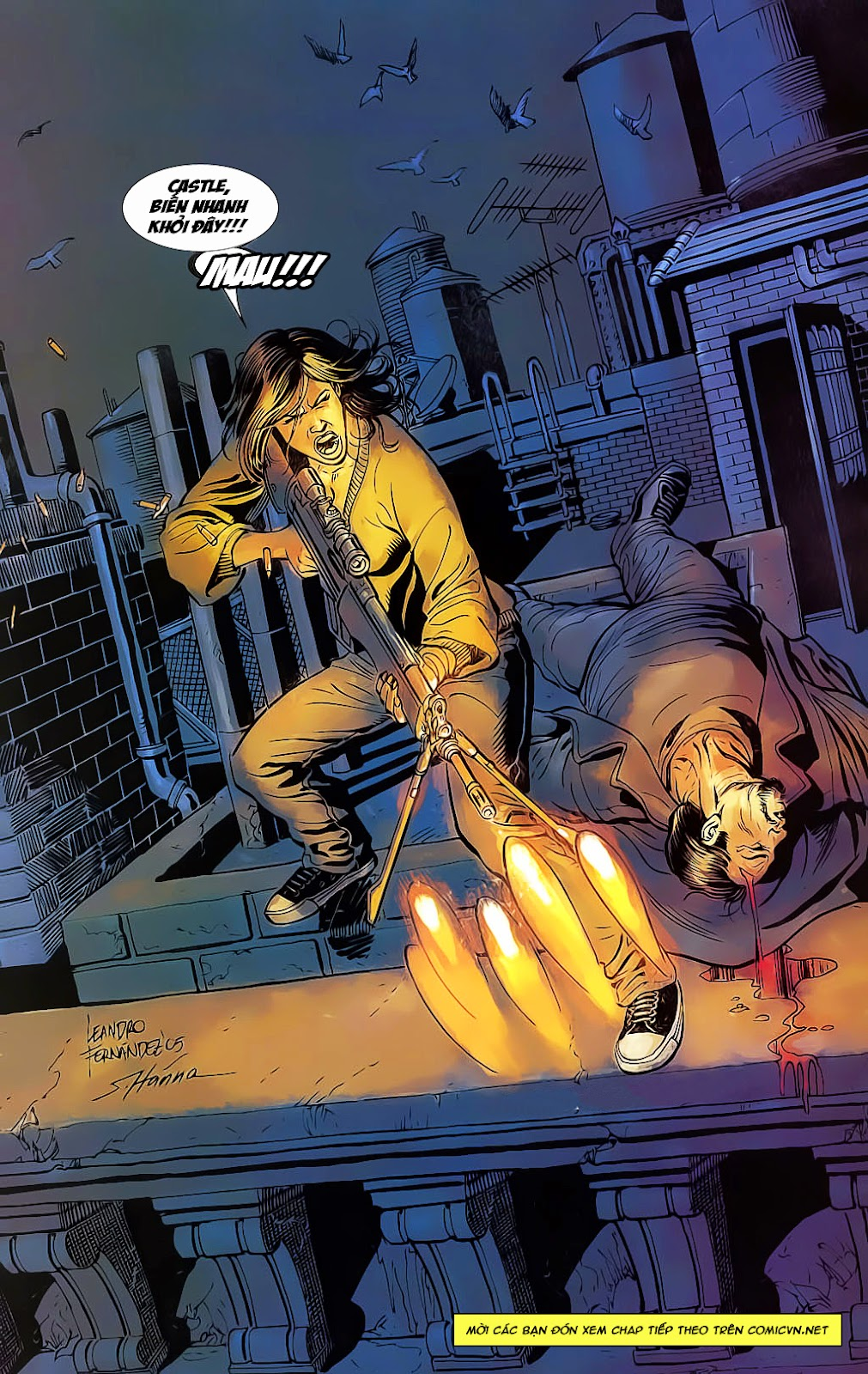 The Punisher: Trên là Dưới & Trắng là Đen chap 4 - Trang 25