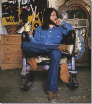 Neil Young in 72