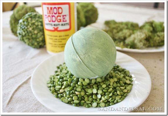 Split Pea Balls