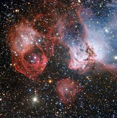 região de formação estelar NGC 2035