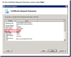 Terence luk requesting certificate for microsoft lync 2010 pool im not exactly sure what key size were supposed to use by the instructions appear to suggest its 1024 and not 2048 the only concern i initially had was yelopaper Images