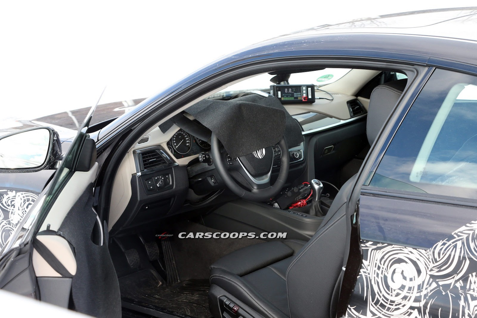 New Spy Shots Of BMW Series Interior BMW Series Forums - Bmw 4 series interior
