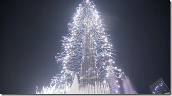 Vuurwerk Dubai 2013