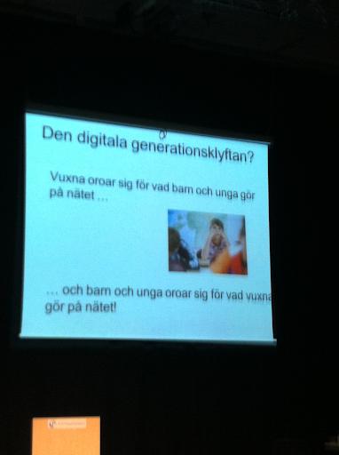 Den digitala generationsklyftan