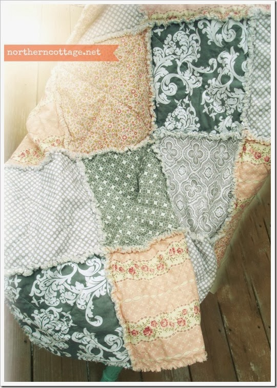 {Northern Cottage} soft cottage quilt