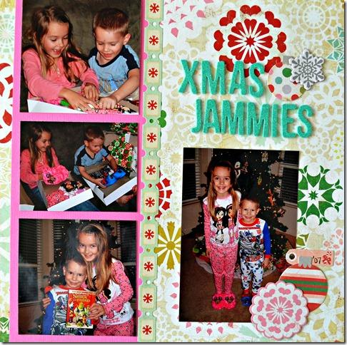 Xmas Jammies Gwynie