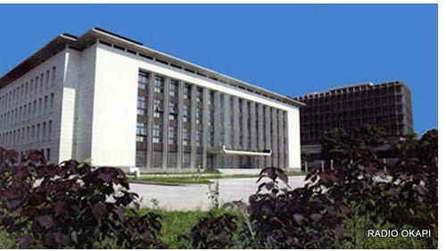 Le siège de la Banque Centrale du Congo, Kinshasa 2010