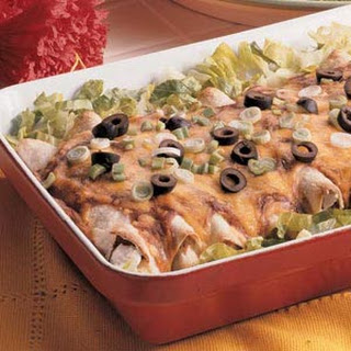Zippy Chicken Enchiladas