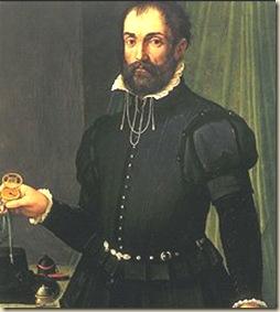 Portrait d'homme avec montre