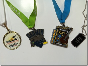 4 half marathons in 27 days