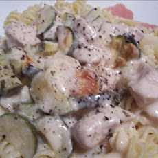 Unknownchef86's Garlic Chicken Alfredo