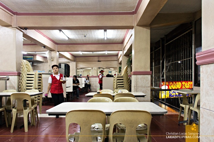 Cafeteria Interiors at Baguio City's Good Taste