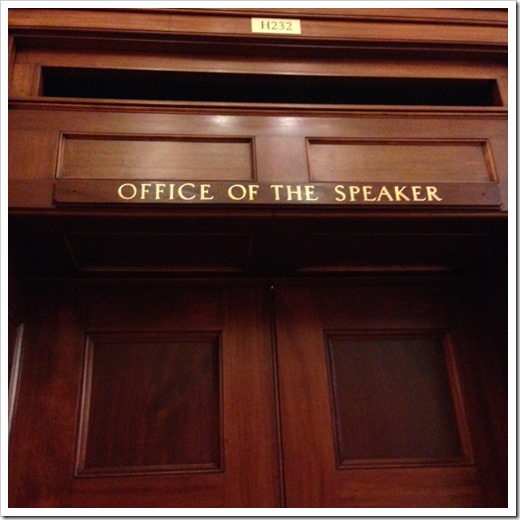 office of the speaker