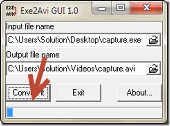 software แปลงไฟล์ exe เป็น avi
