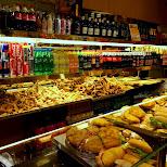 an Italian bakery in Brera in Milan, Milano, Italy