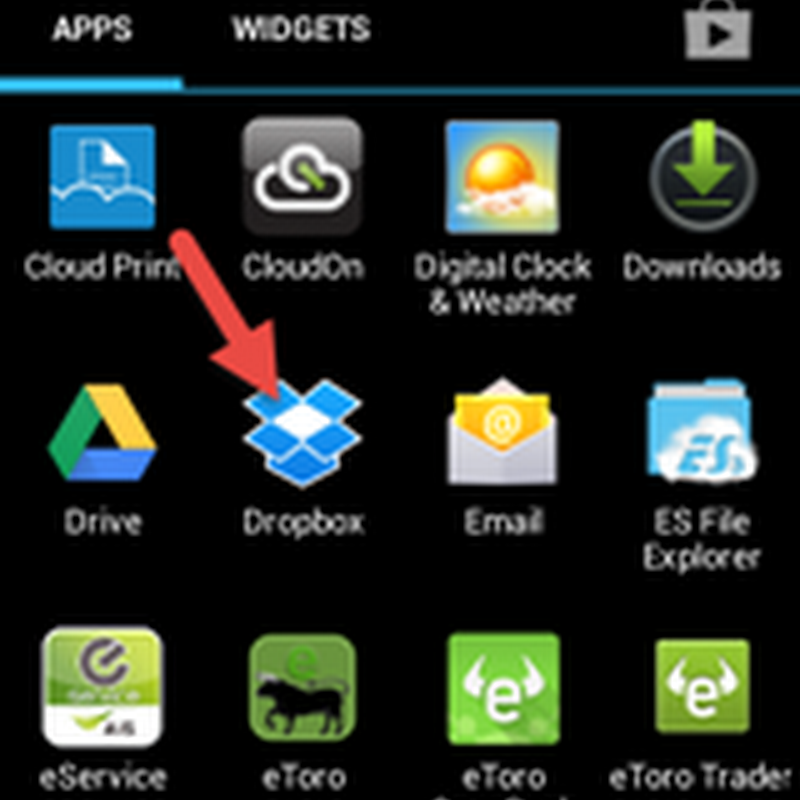 ตั้งค่าสำรองรูปถ่ายแบบอัตโนมัติไปยัง Dropbox ใน Android
