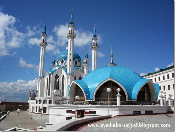 Masjid Qolsharif – Kazan, Rusia
