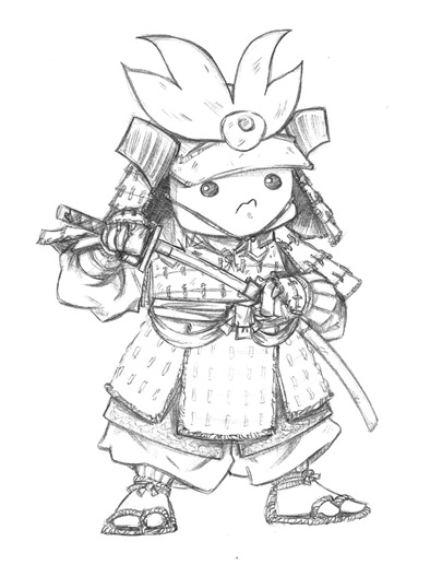 Diseño de Samukoke, original vendido en el Japan Weekend BCN 2012