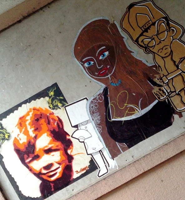 paste up streetart