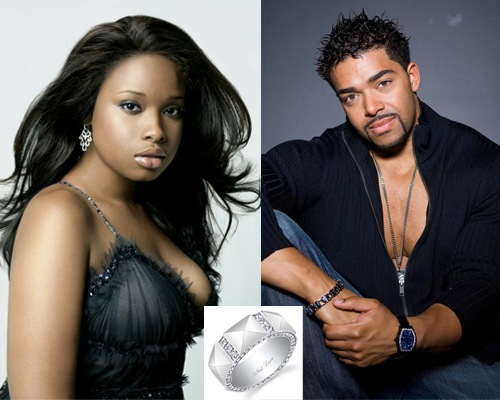 Jennifer Hudson and David Otunga's Engagement Ring Band