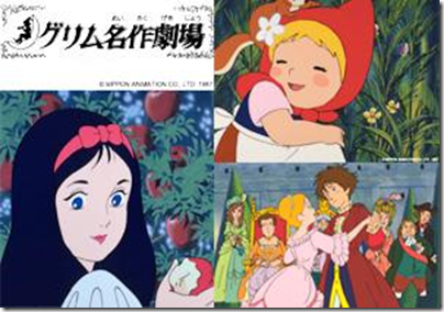 Grimm Fairytales animation (japanese, mandarin dubbed)