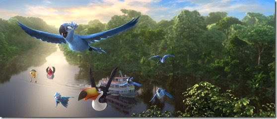 from the city to the jungle in RIO 2 (1)