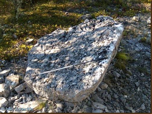 Megalito del dolmen de Puyomediano
