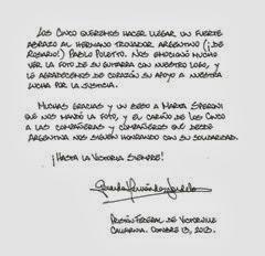 Carta Gerardo Hernandez Nordelo