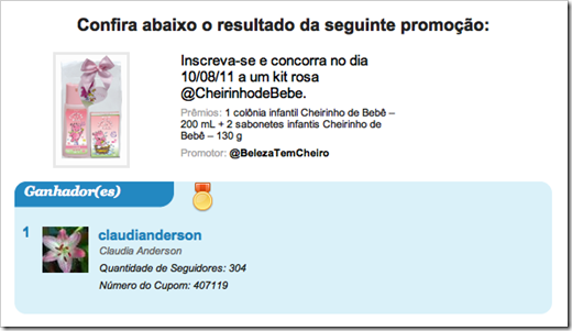 http://twitpromo.com.br/promocao/resultado/21dbb888d78a4de6a85d63f856cea085
