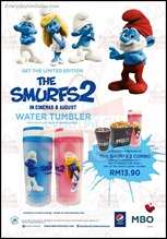 MBO Cinemas Free The Smurf 2 Water Tumbler Deal 2013 Discounts Offer Shopping EverydayOnSales