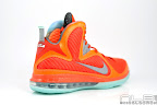 lebron9 allstar galaxy 22 web white Nike LeBron 9 All Star aka Galaxy Unreleased Sample