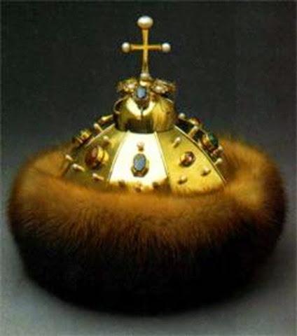 Corona de Pedro I, réplica de la corona Monomakh