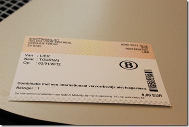 年末年始のショッピングチケット(ベルギー全国9.9)