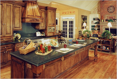 Gambar Desain Dapur Nuansa Klasik 2