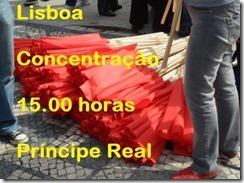 Concentração Manif.Lisboa 16 Fev. 2013