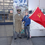 shaking hands with the Soviets in Berlin, Berlin, Germany
