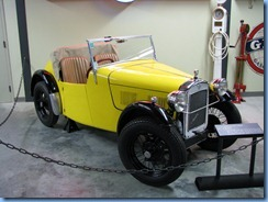 0928 Alberta Calgary - Heritage Park Historical Village - Gasoline Alley Museum - c. 1935 Austin Seven 'Nippy'