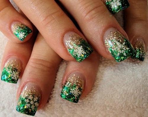 Green-Nail-Art