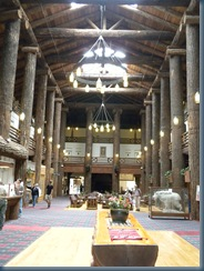 Grand Foyer, Glacier Park Lodge, East Glacier, MT