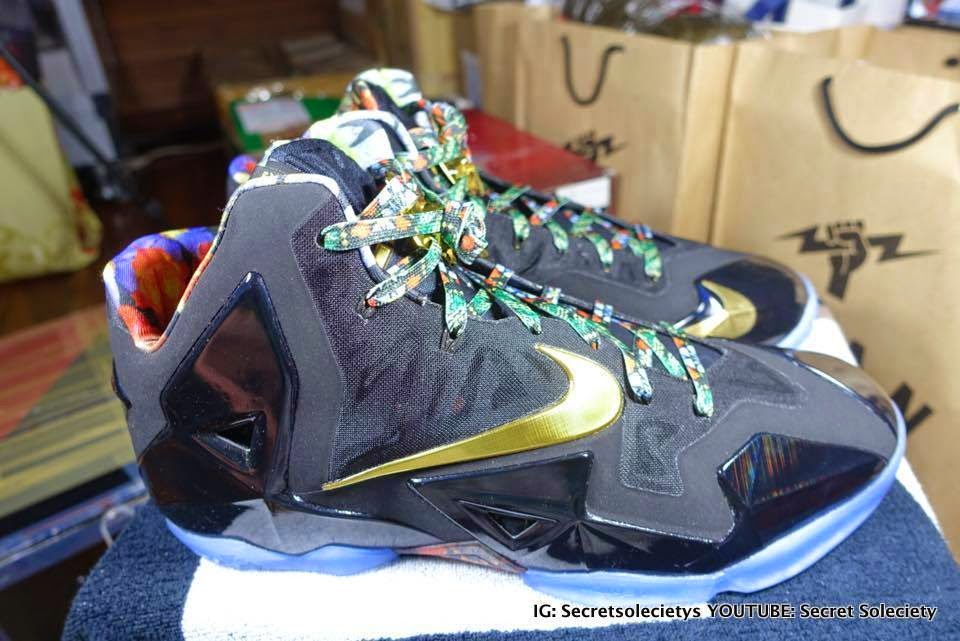 "Detailed Look at ""Watch the Throne"" Nike LeBron XI PE ..."