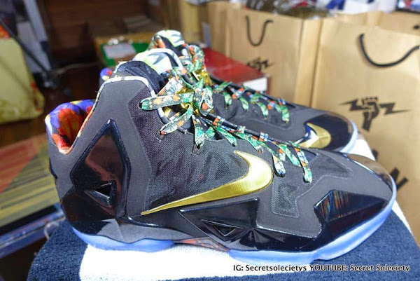 Detailed Look at 8220Watch the Throne8221 Nike LeBron XI PE