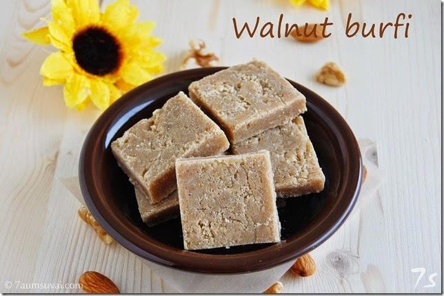 Walnut burfi
