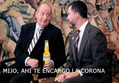 Juan Carlos y Felipe VI