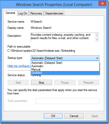 windows-8-speed-up-stop-windows-search-service-properties