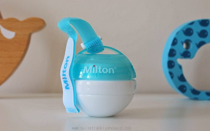 milton mini steriliser review