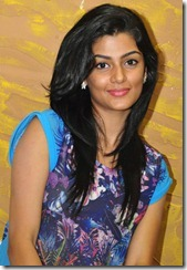 Actress Anisha Ambrose Stills at Arere Movie Press Meet