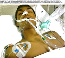 BALIRAJ Dilkash IN ICU stomach ripped open by Ganges secondary student for R30 and cellphone MEREBANK CHATSWORTH KZN
