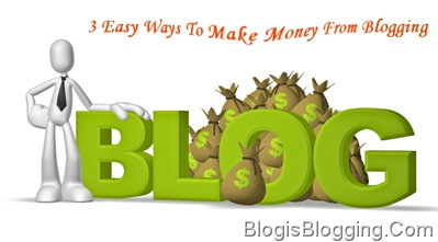 Make Money Online From Blogging