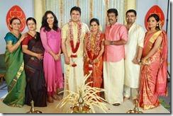 Balachandra Menon daughter Bhavana marriage photo1